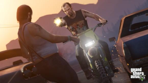 Trevor metralha homem gordo no GTA V