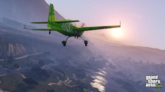 Avião verde GTA V