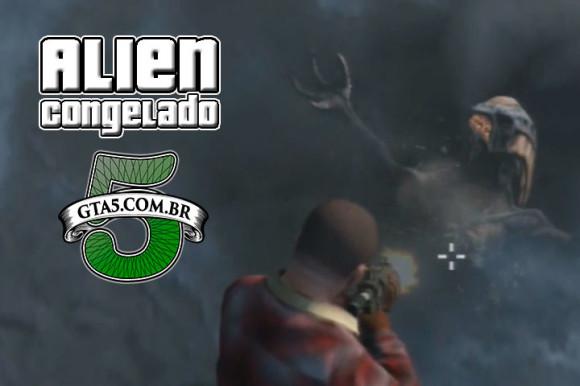 Alien Congelado GTA V