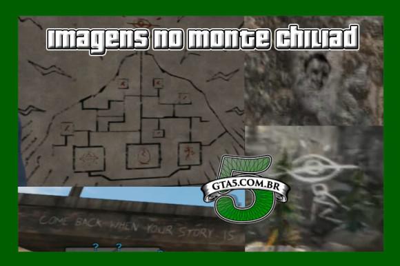 Desenhos Monte Chiliad GTA V
