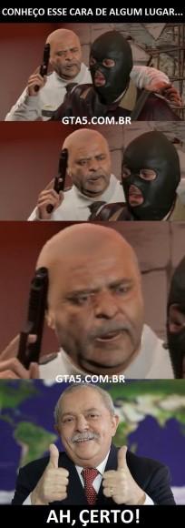 Lula no GTA V