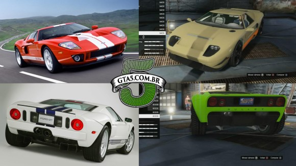 Vapid Bullet e Ford GT GTA V