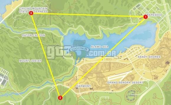 Mapa Trafico Aereo 1 GTA V