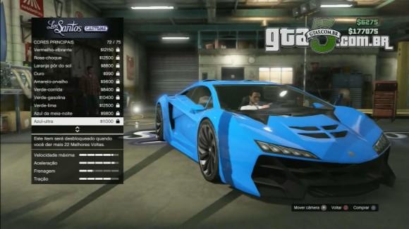 Pegassi Zentorno do GTA V Online - GTA 5