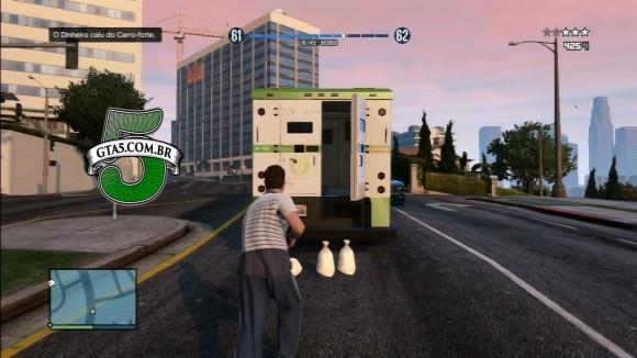 Roubando carro forte no GTA Online