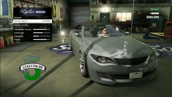 Roubando e vendendo carro no GTA Online