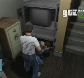 Um assalto que deu muito errado no GTA Online