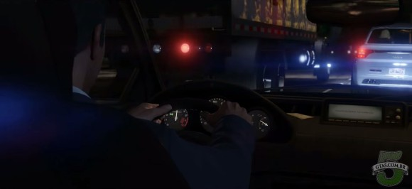 Interior dos  Carros do GTA V de PC