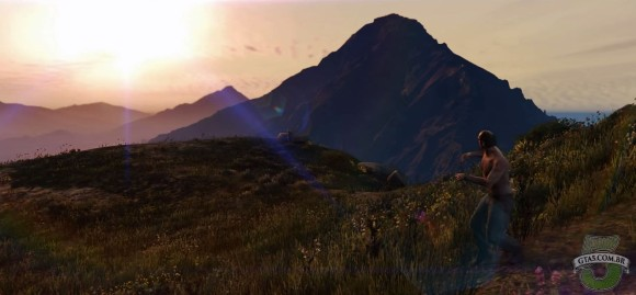 Mount Chiliad do GTA V para PC