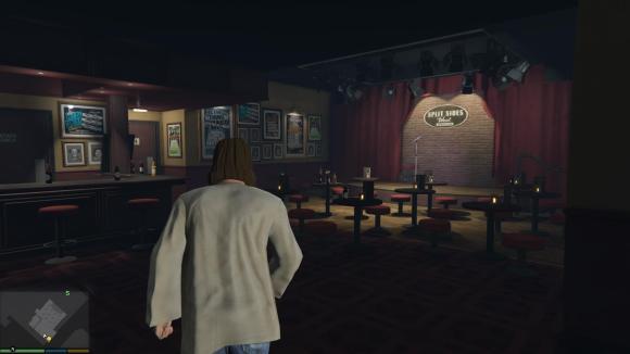 Entrando no Split Side West no GTA 5 de PC com mod