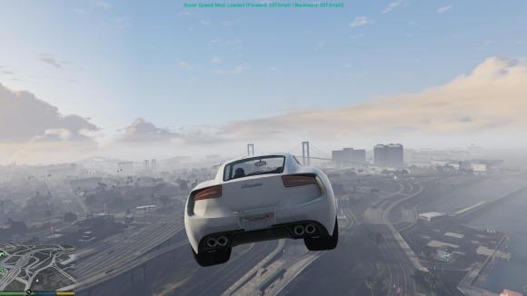 Mod da super velocidade para GTA V