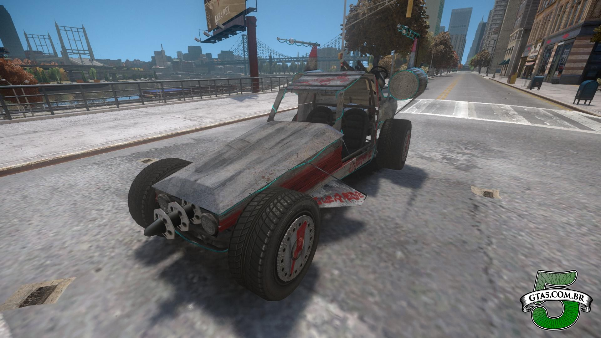 Mod BF Space Docker do GTA V no GTA IV 2 - GTA 5