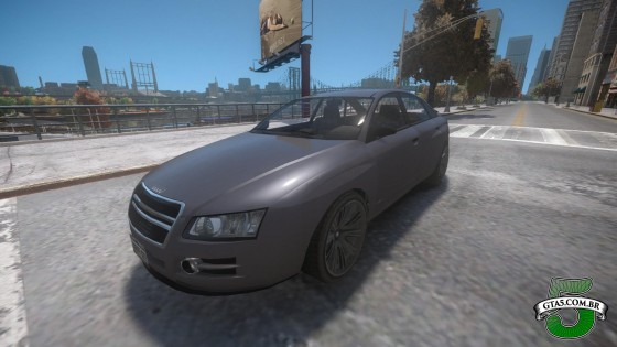 Mod Obey Tailgater do GTA V no GTA IV 2