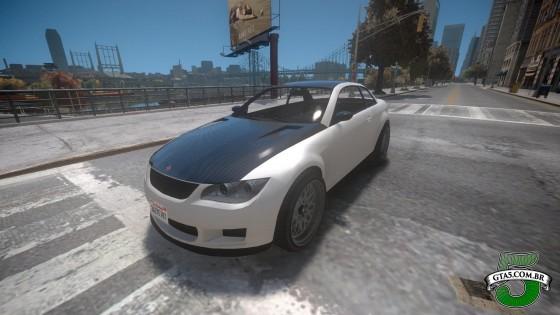 Mod Ubermacht Sentinel XS do GTA V no GTA IV 2