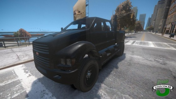 Mod Vapid Guardian do GTA V no GTA IV 2