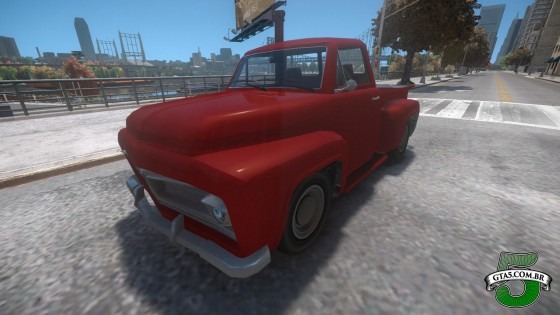 Mod Vapid Slamvan do GTA V no GTA IV 2
